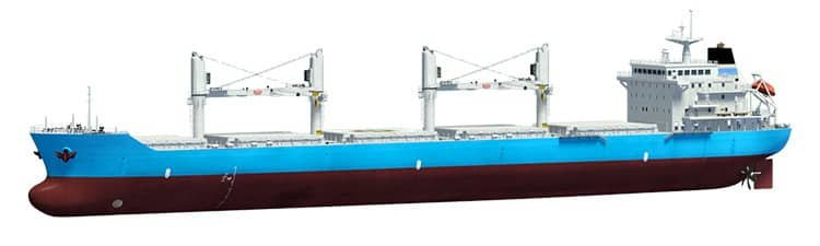 Bulk-carrier ship